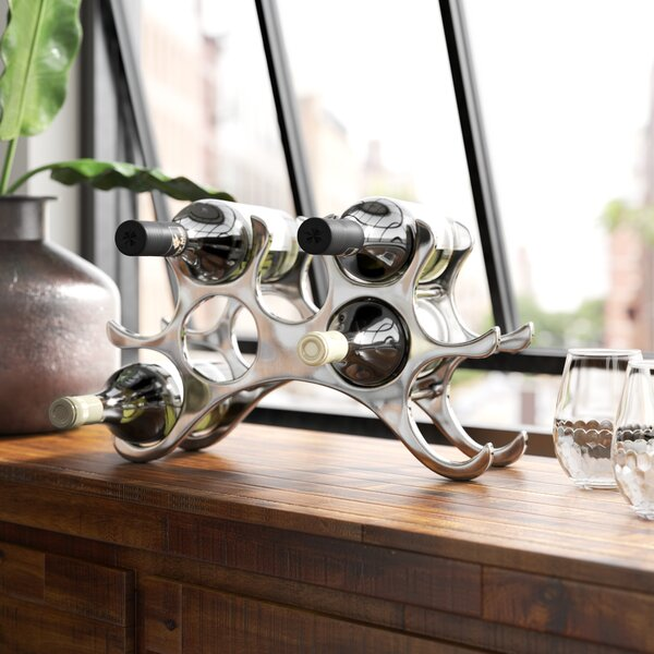New Haven 9 Bottle Tabletop Wine Rack by Greyleigh