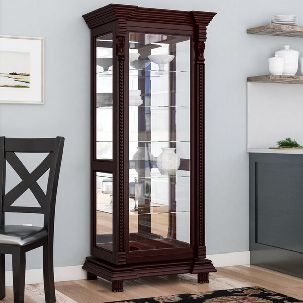 Ansel Curio Cabinet by Astoria Grand Astoria Grand