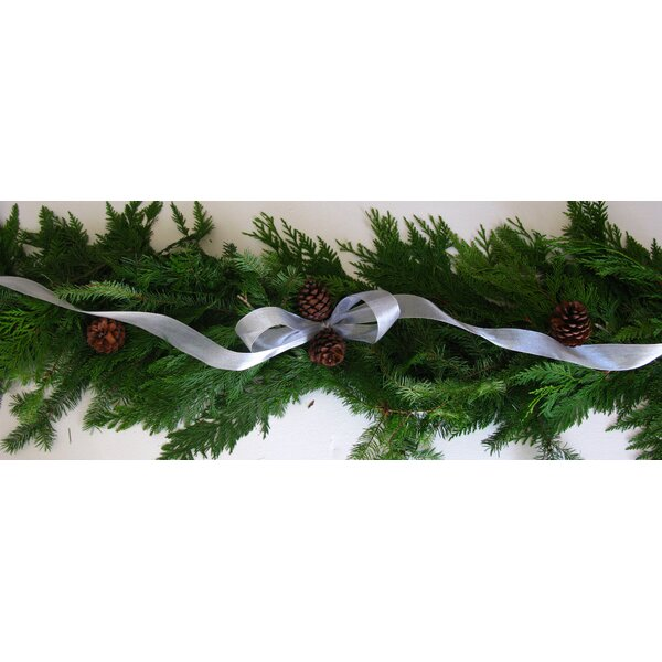 Holiday Garland with Ribbon by From the Garden