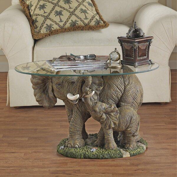 Elephant's Majesty Coffee Table by Design Toscano Design Toscano