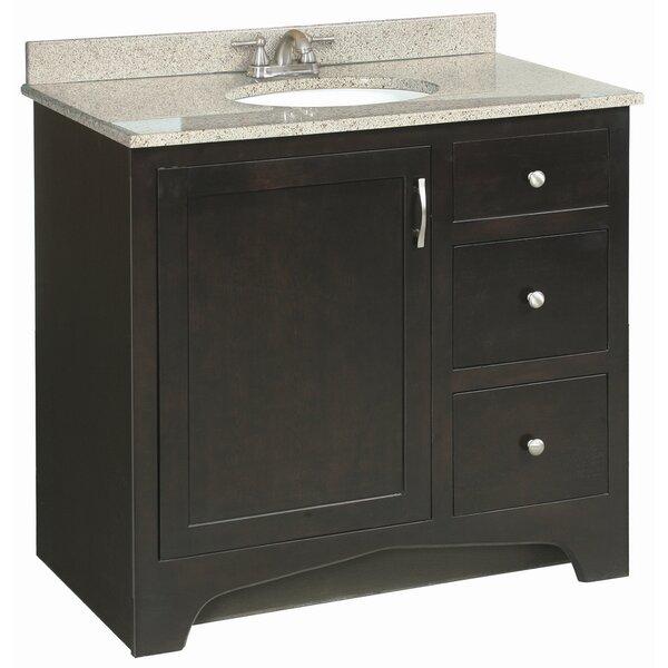Steubenville 36 Single Door Cabinet Vanity Base by Andover Mills