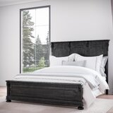 Goodwater Distressed Solid Wood Platform Bed by Darby Home Co