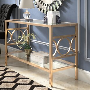 Compare prices Astor Console Table By Willa Arlo Interiors