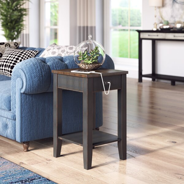 Darrell End Table With Storage By Laurel Foundry Modern Farmhouse
