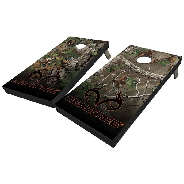 Realtree Extra Green 10 Piece Cornhole Set by West Georgia Cornhole