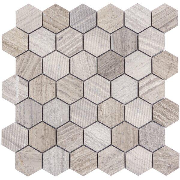 Metro 2 x 2 Limestone Wood Look Tile
