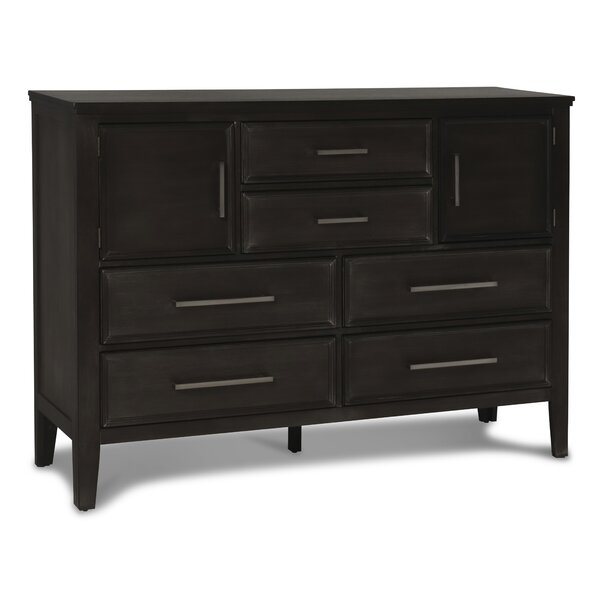 6 Drawer Combo Dresser by Gracie Oaks
