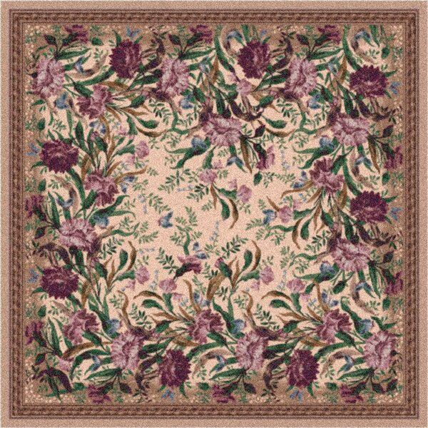 Pastiche Barrington Court Heathered Rose Rug by Milliken