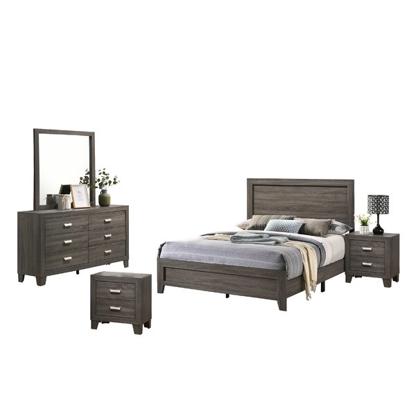 Ferland Platform 5 Piece Bedroom Set by Union Rustic