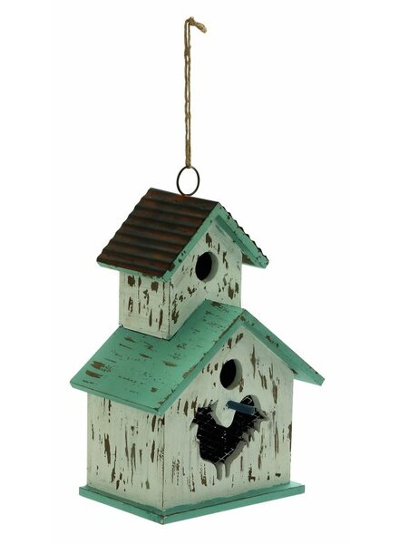 20 in x 9 in x 6 in Birdhouse by Cole & Grey