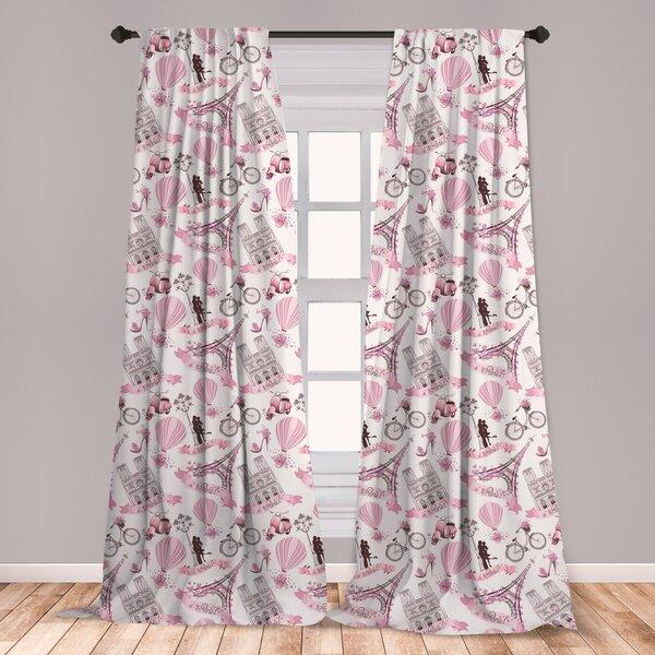 Paris Curtains For Bedroom Wayfair