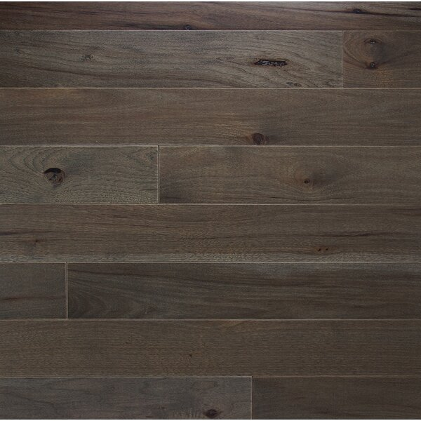 Character 5 Solid Hickory Hardwood Flooring in Ember by Somerset Floors