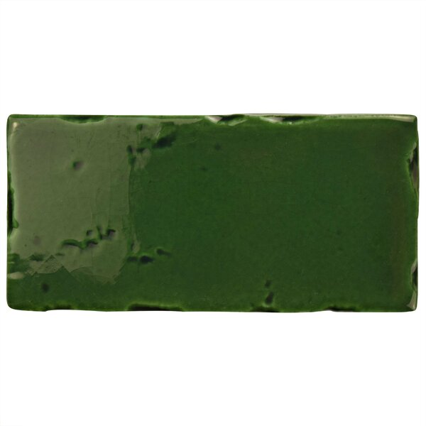 Frisia Subway 2.5 x 5.13 Ceramic Subway Tile in Green by EliteTile