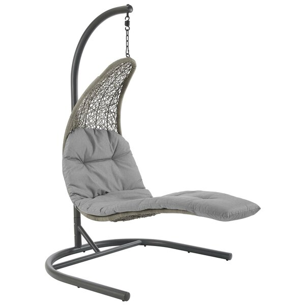 Mokena Hanging Chaise Lounger with Stand