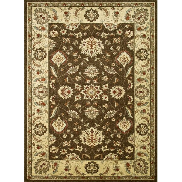 Chester Brown Oushak Area Rug by Threadbind