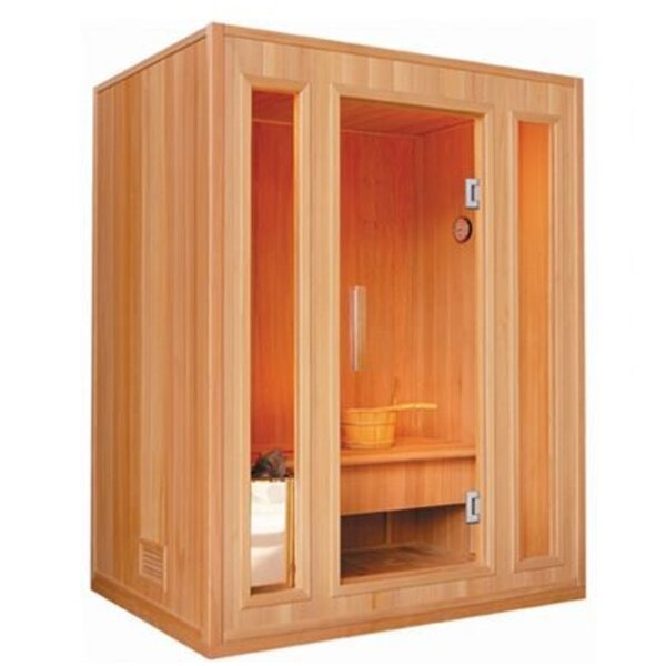 Southport 3 Person Traditional Steam Sauna by SunRay Saunas