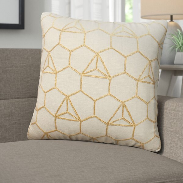 Benny Hexagon Throw Pillow by Corrigan Studio