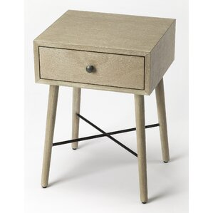 Jacqueline End Table by Iv..