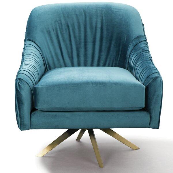 Kinchen Mid Century Swivel Armchair by Mercer41
