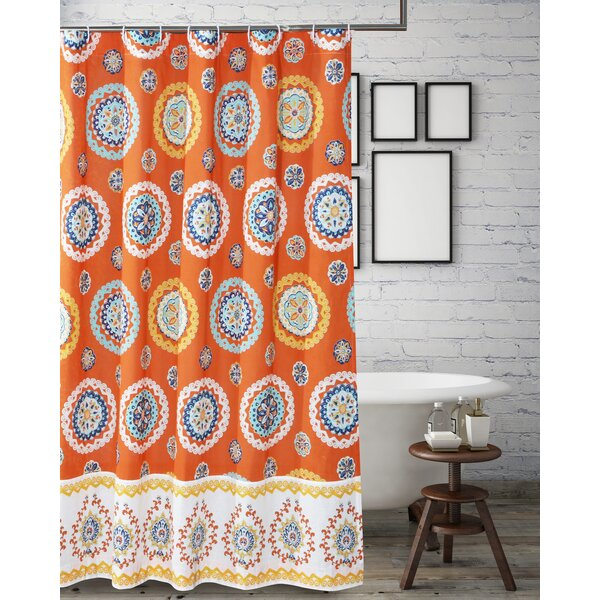 Silver Hills Shower Curtain by Bungalow Rose