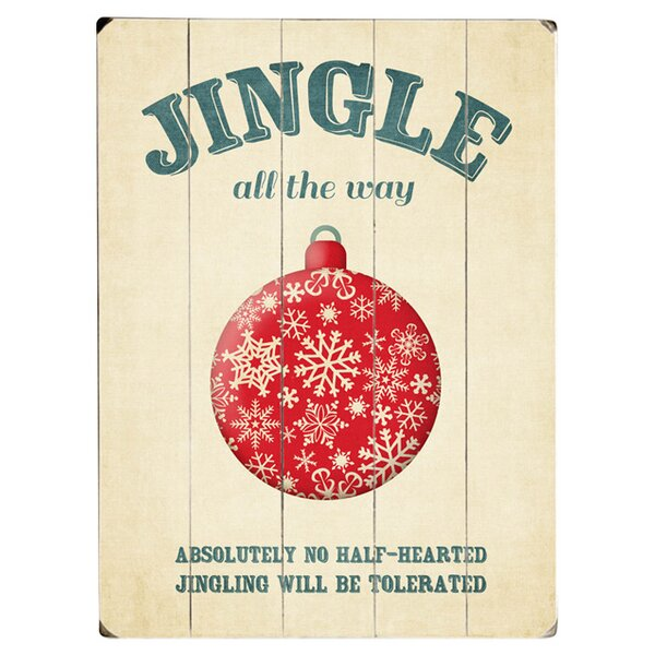 Jingle All the Way Graphic Art Print Multi-Piece Image on Wood by Artehouse LLC