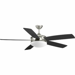 Affordable Price 60 Eanike 5 Blade Ceiling Fan with Remote By Latitude Run