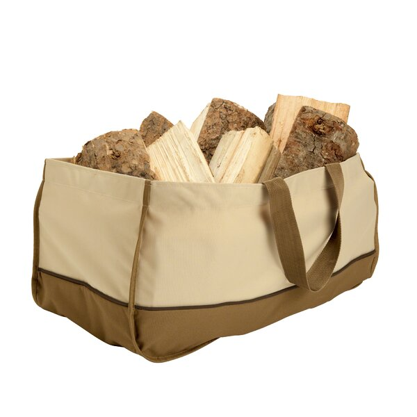 Croteau Jumbo Log Tote by Red Barrel Studio