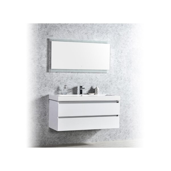 Pegram 48 Single Sink Bathroom Vanity Set by Orren Ellis