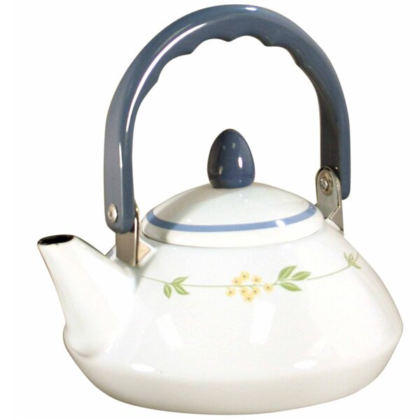 Livingware Secret Garden 1.2-qt. Personal Tea Kettle by Corelle