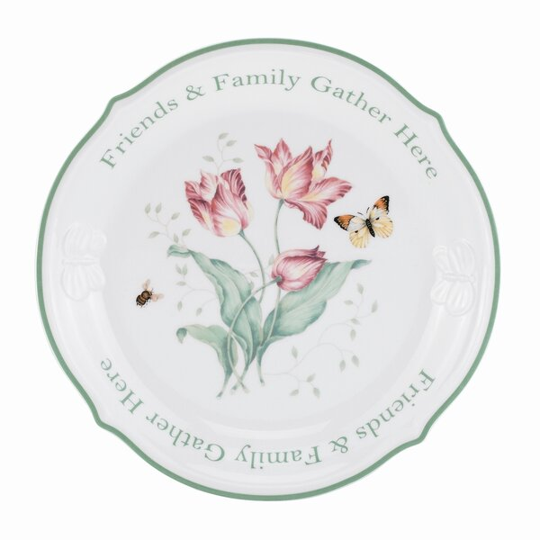 Butterfly Meadow Porcelain China Platter by Lenox