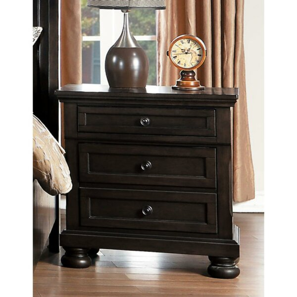 Damron 3 Drawer Nightstand by Darby Home Co