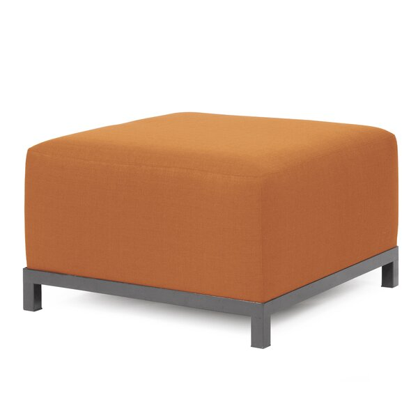 Lund Box Cushion Ottoman Slipcover By Rosecliff Heights