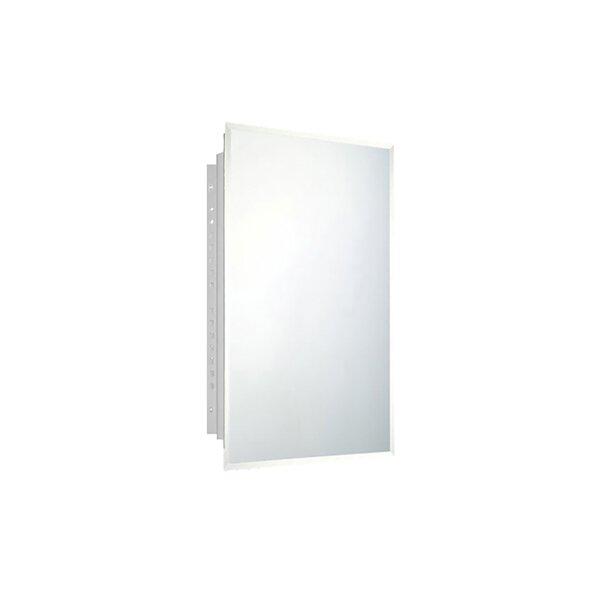 Otelia Recessed Frameless Medicine Cabinet with 4 Adjustable Shelves