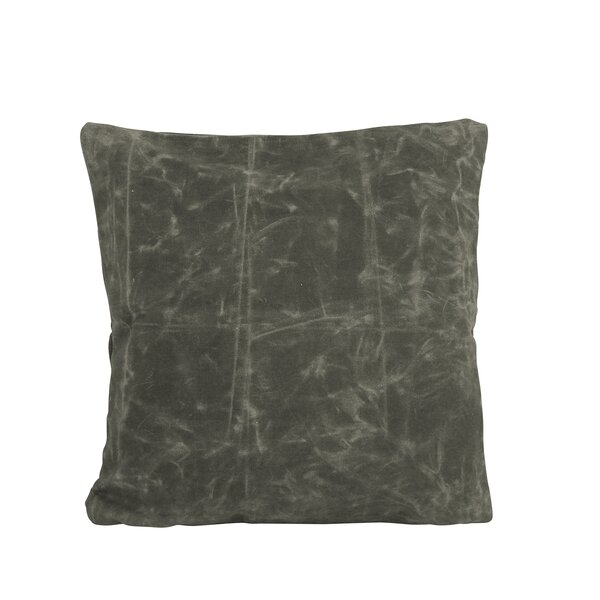 Waxed Canvas Pillow Indoor/Outdoor Throw Pillow by CB Station