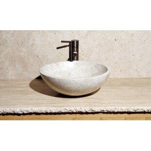 Stone Circular Vessel Bathroom Sink ByAllstone Group