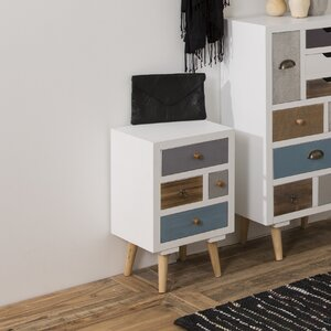 Kourtney 4 Drawer Bedside Table