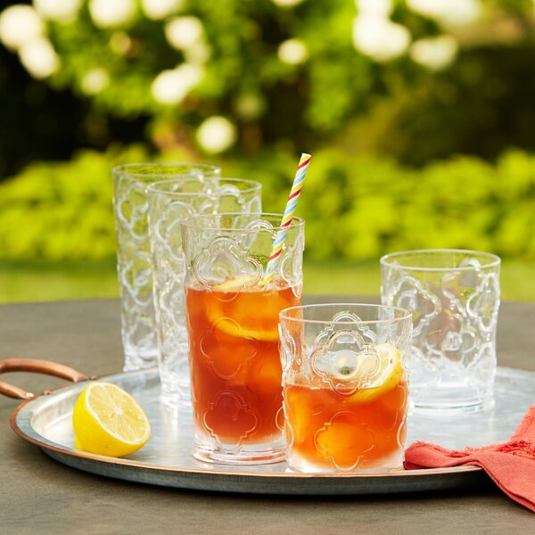 Riviera Plastic Cocktail Glasses (Set of 6) by Birch Lane™