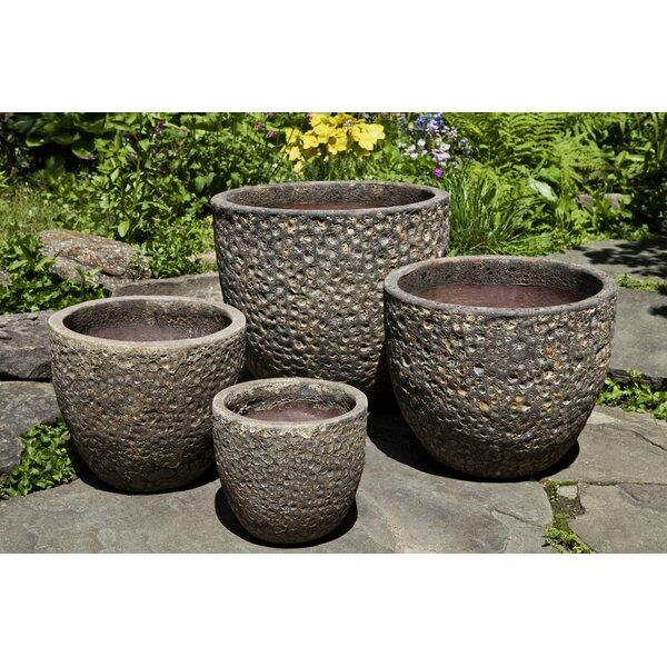 Angeles 4-Piece Terracotta Pot Planter Set by Bloomsbury Market