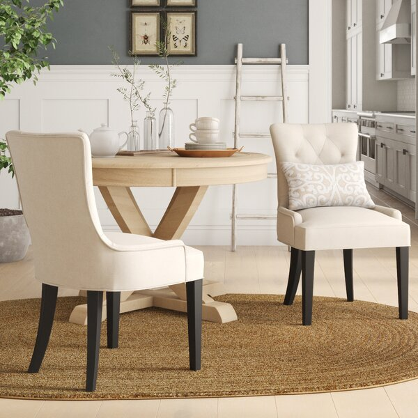 Grandview Upholstered Dining Chairs (Set Of 2) (Set Of 2) By Birch Lane™ Heritage Birch Lane™ Heritage