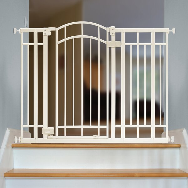 Hillyer Multi Use Deco Extra Tall Walk-Thru Gate by Tucker Murphy Pet