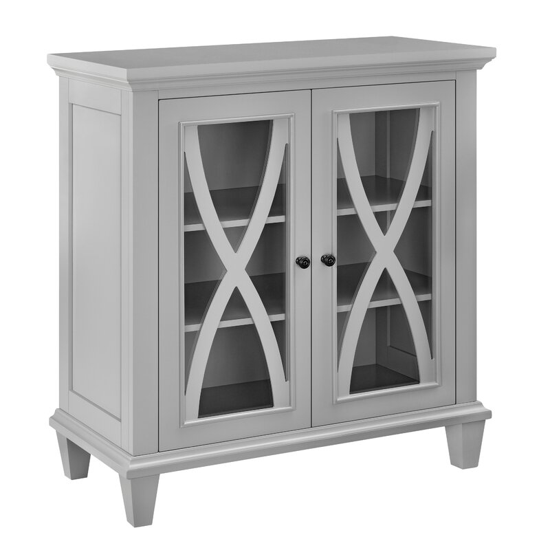 Beautiful Rosendale 2 Door Accent Cabinet