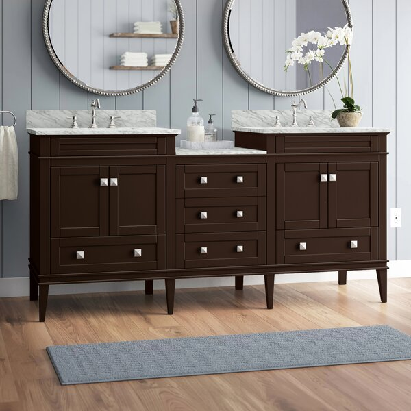 Hunter 72 Double Bathroom Vanity Set