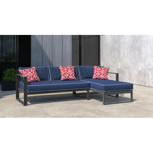 Monterey Patio Sectional with Cushions by Tommy Hilfiger Tommy Hilfiger