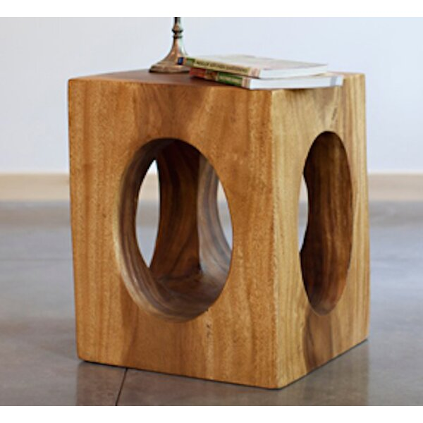 Itzel Windows End Table by World Menagerie