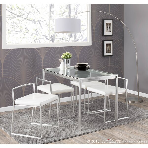 Looking for Gary 5 Piece Dining Set By Wade Logan Discount