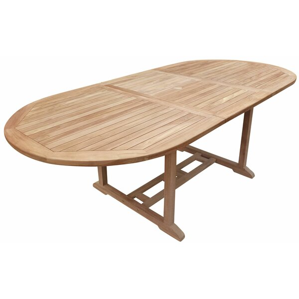Cossette Wood Dining Table by Highland Dunes