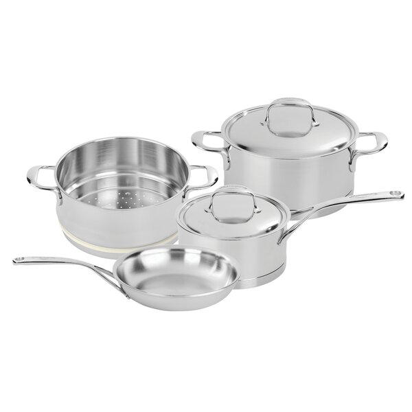 Atlantis 6 Piece Stainless Steel Cookware Set by Demeyere