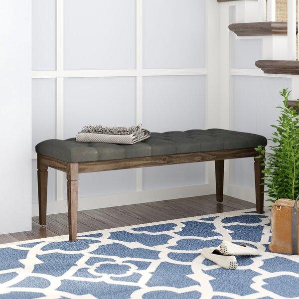 Hazelton Upholstered Bench By Charlton Home