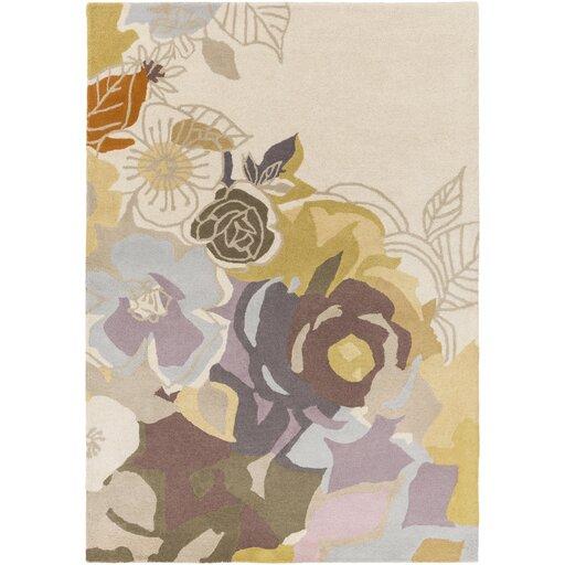 Meads Lavender/Mauve Area Rug by Brayden Studio