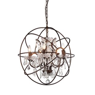 Great choice 5-Light Globe Chandelier By Warehouse of Tiffany